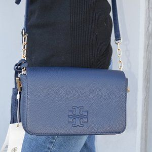 NWT Tory Burch Thea Mini Tassel Bag with Chain